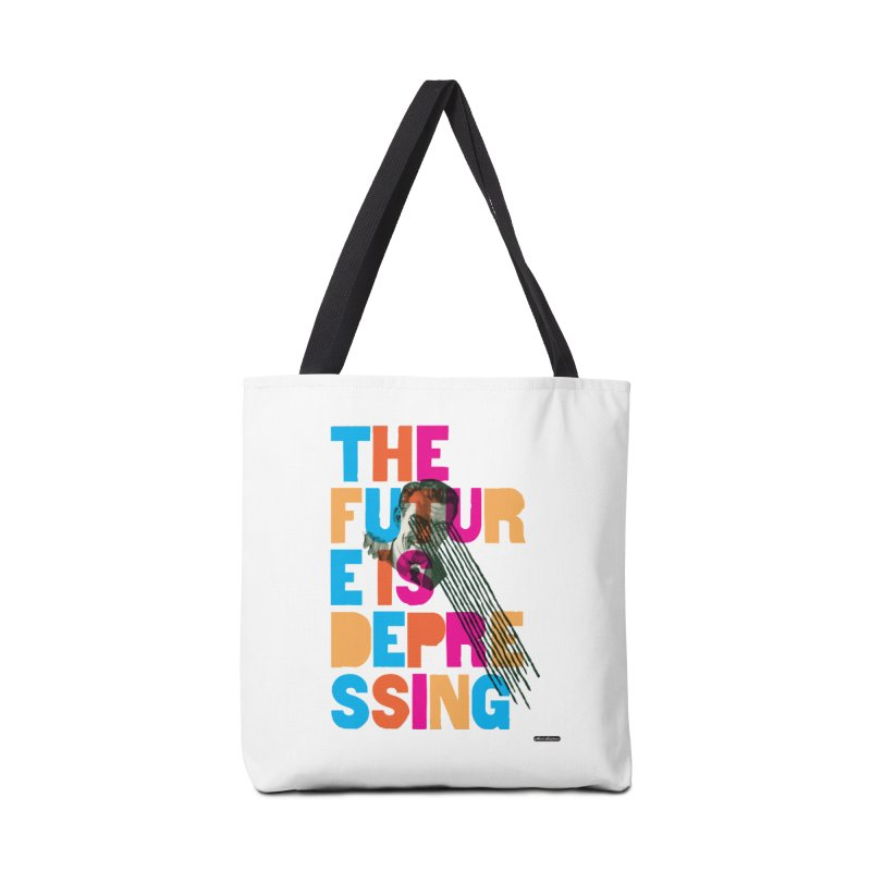 The Future is Depressing Accessories Bag by DRAWMARK