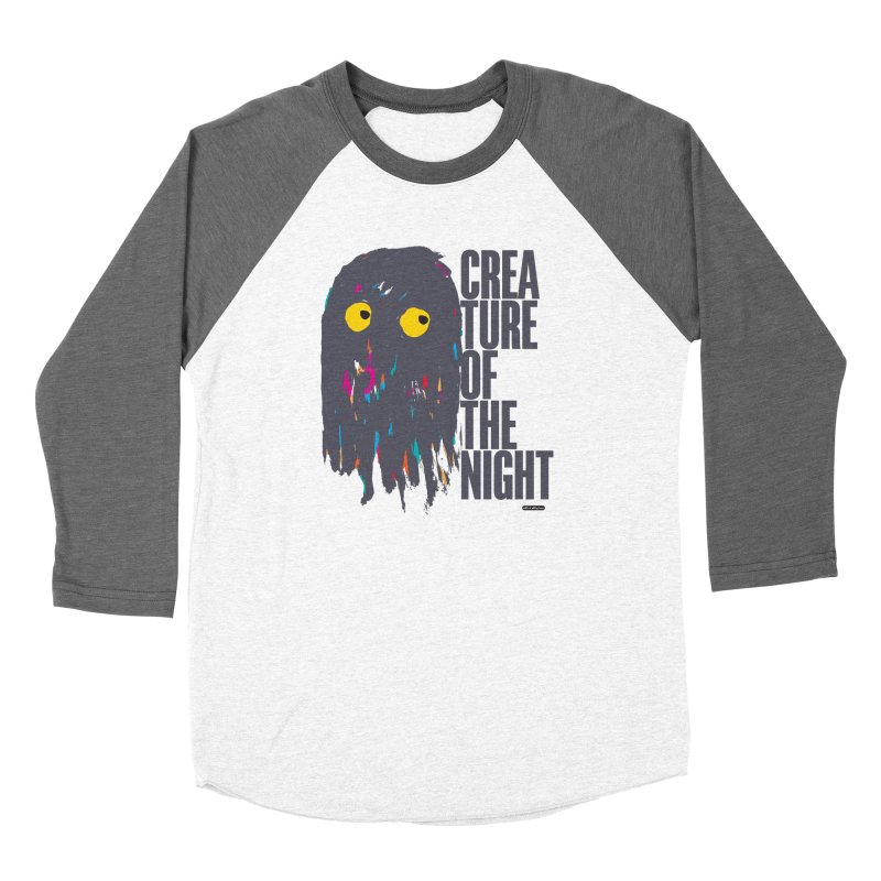 Creature of the Night Women's Longsleeve T-Shirt by DRAWMARK