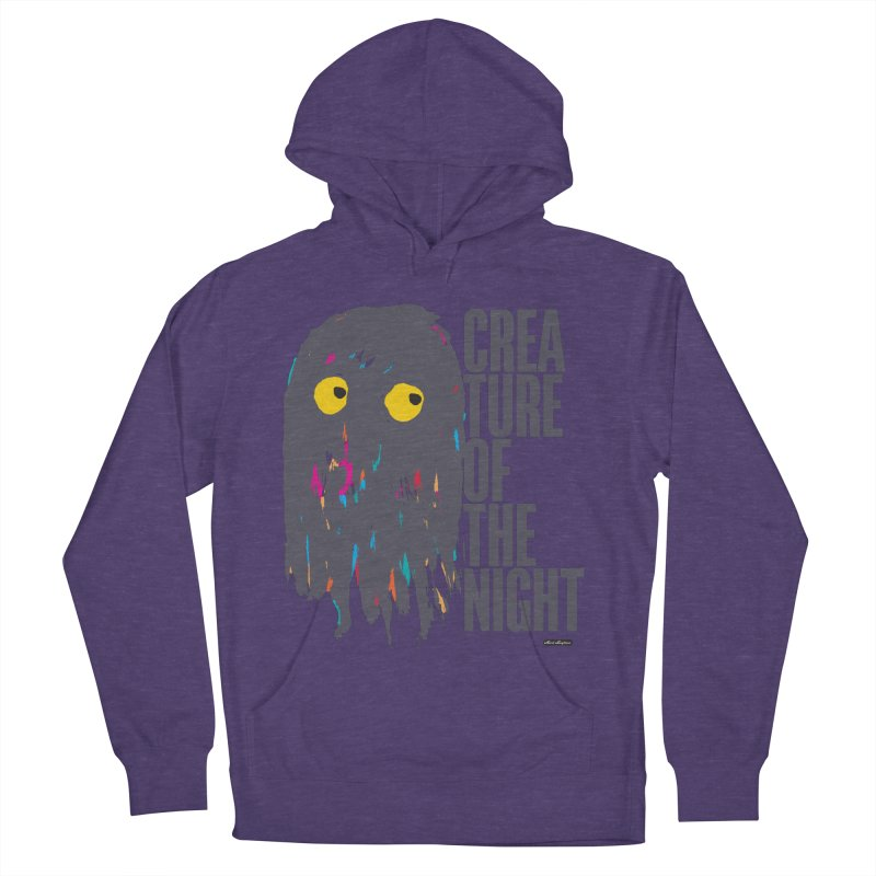 Creature of the Night Men's Pullover Hoody by DRAWMARK
