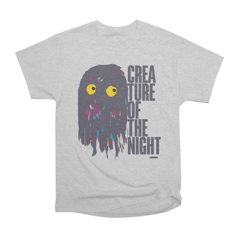Creature of the Night Women's Classic Unisex T-Shirt by DRAWMARK