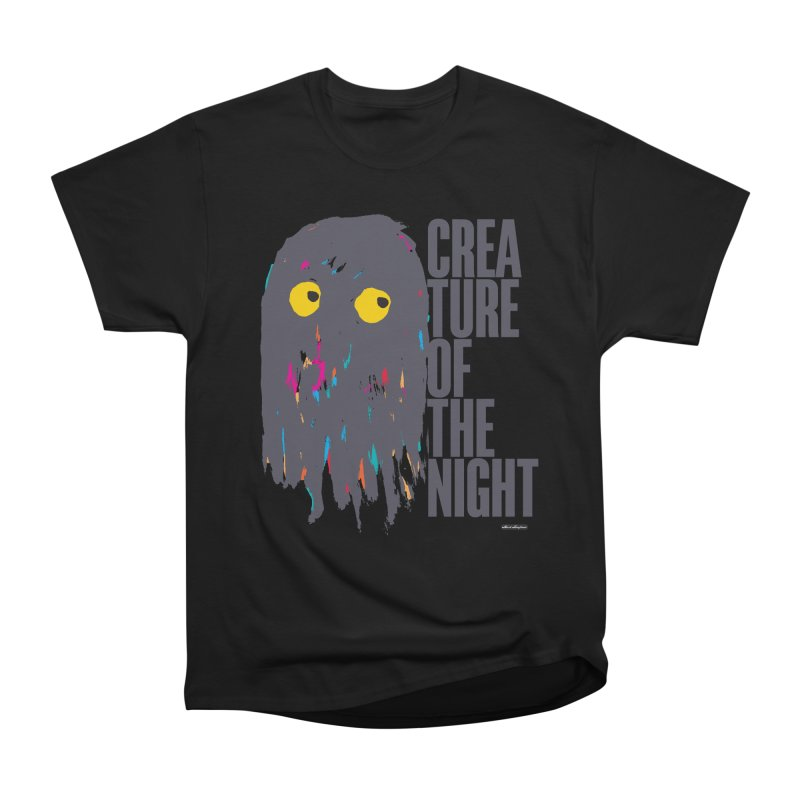 Creature of the Night Men's Classic T-Shirt by DRAWMARK