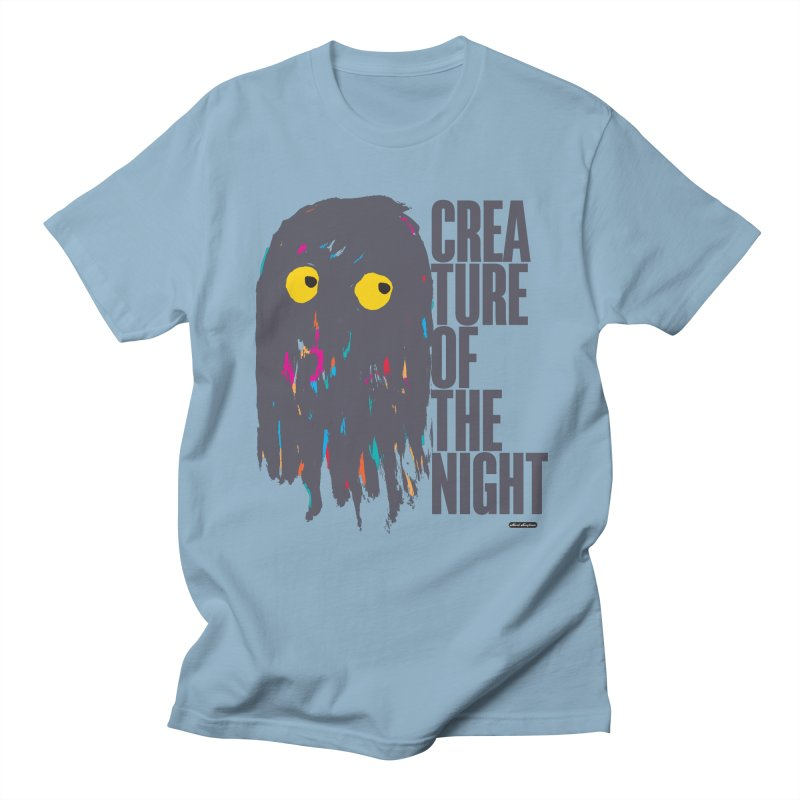Creature of the Night Men's T-Shirt by DRAWMARK