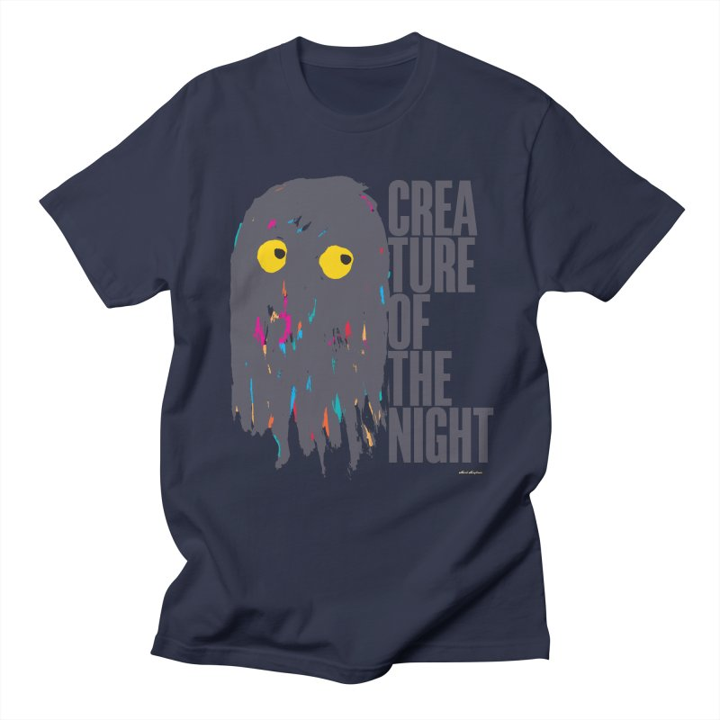 Creature of the Night Women's Unisex T-Shirt by DRAWMARK