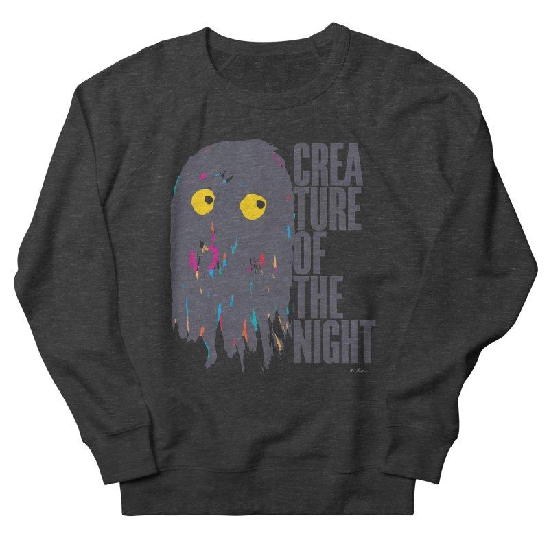 Creature of the Night Women's Sweatshirt by DRAWMARK