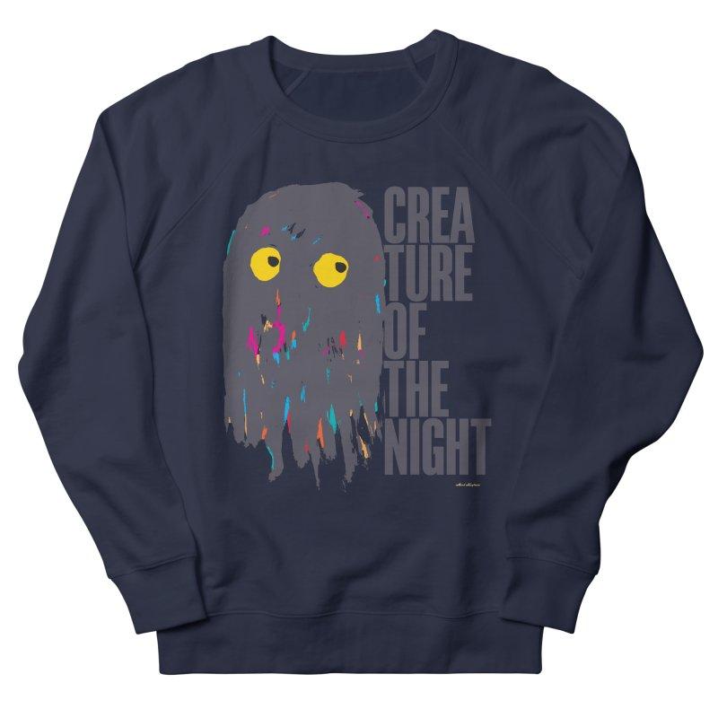 Creature of the Night Men's Sweatshirt by DRAWMARK