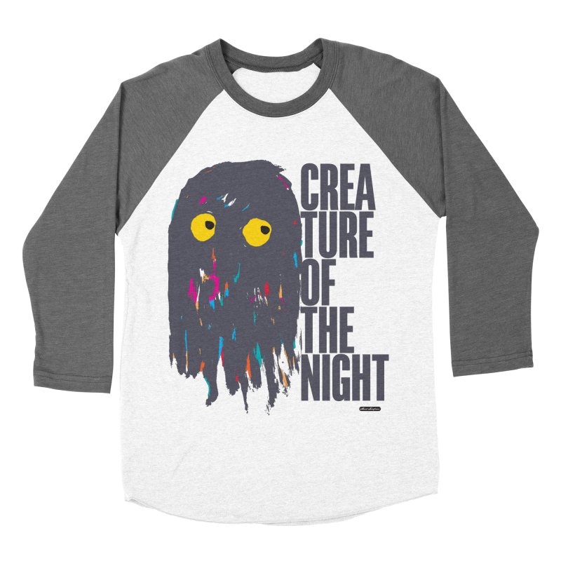 Creature of the Night Women's Baseball Triblend T-Shirt by DRAWMARK