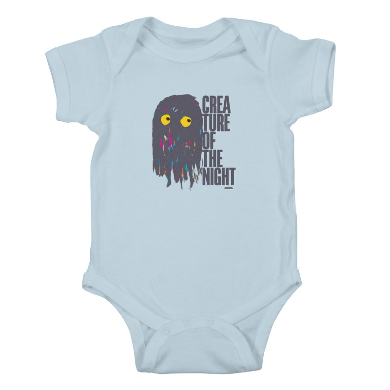 Creature of the Night Kids Baby Bodysuit by DRAWMARK