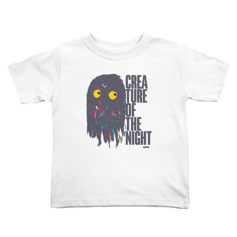 Creature of the Night Kids Toddler T-Shirt by DRAWMARK