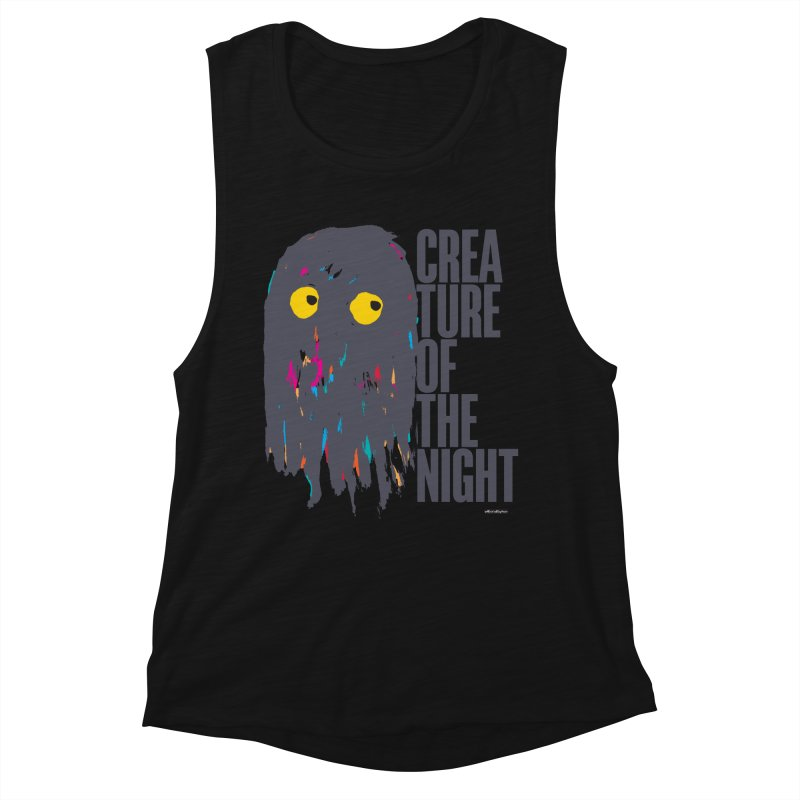 Creature of the Night Women's Tank by DRAWMARK