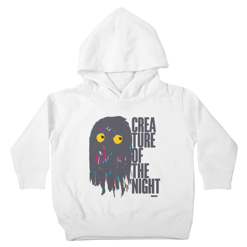 Creature of the Night Kids Toddler Pullover Hoody by DRAWMARK