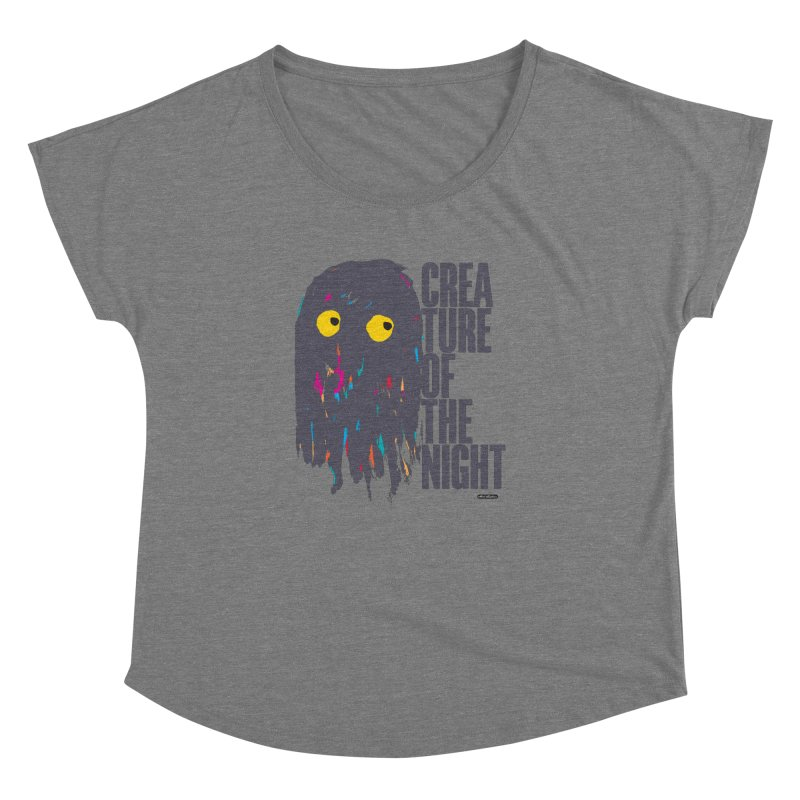 Creature of the Night Women's Dolman by DRAWMARK