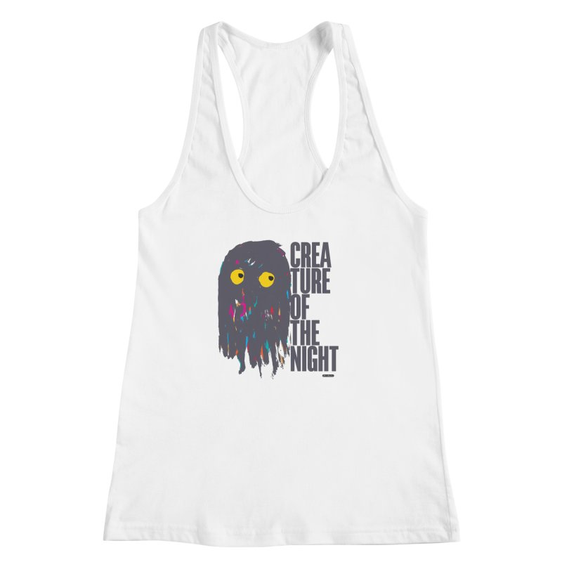 Creature of the Night Women's Racerback Tank by DRAWMARK