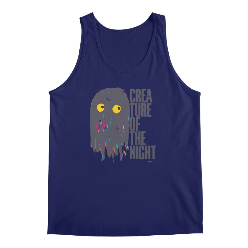 Creature of the Night Men's Tank by DRAWMARK