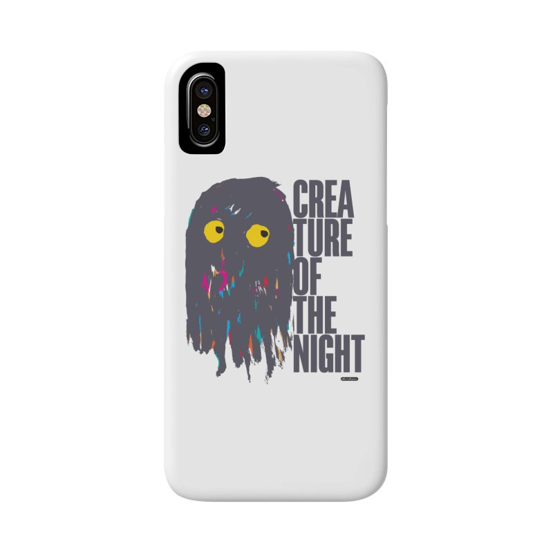 Creature of the Night Accessories Phone Case by DRAWMARK