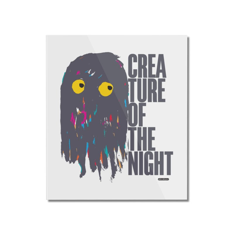 Creature of the Night Home Mounted Acrylic Print by DRAWMARK