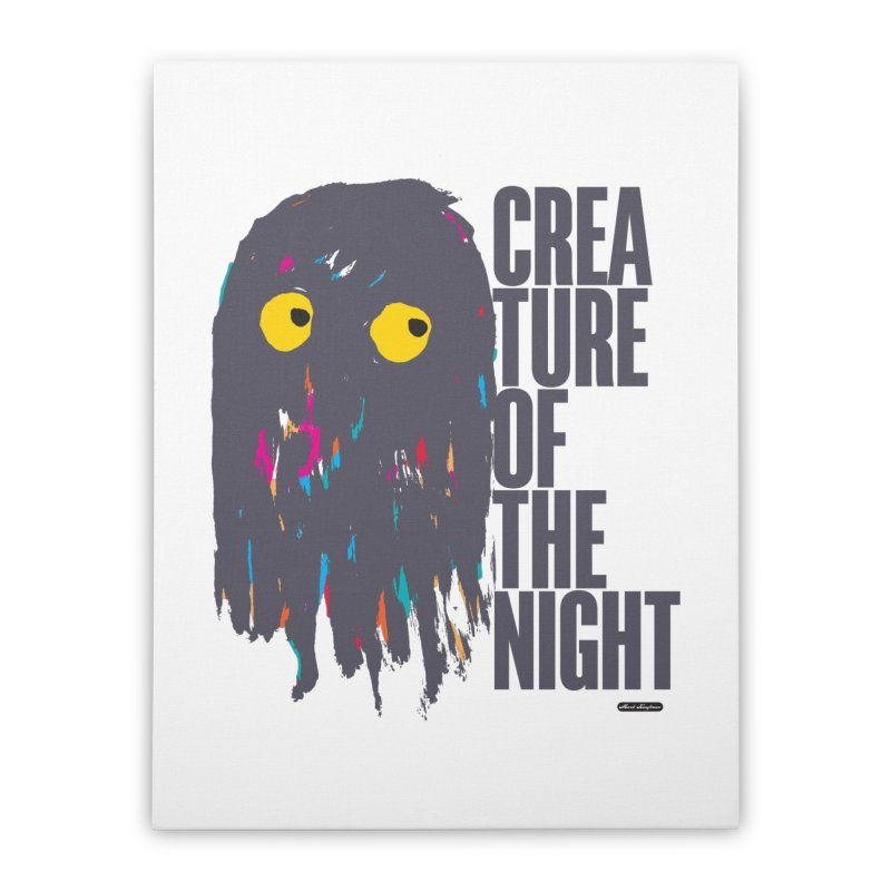 Creature of the Night Home Stretched Canvas by DRAWMARK