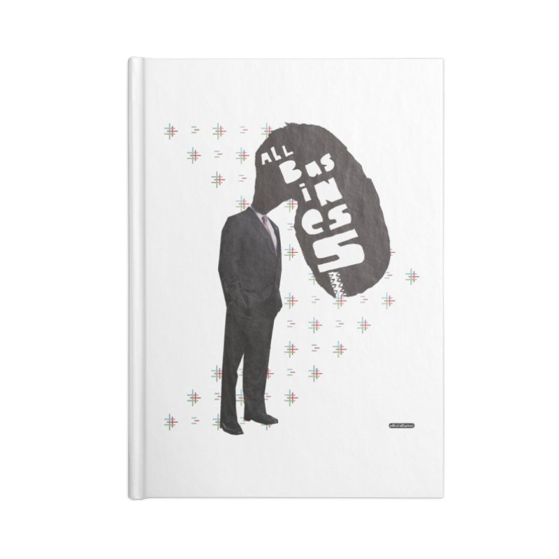 All Business Accessories Blank Journal Notebook by DRAWMARK