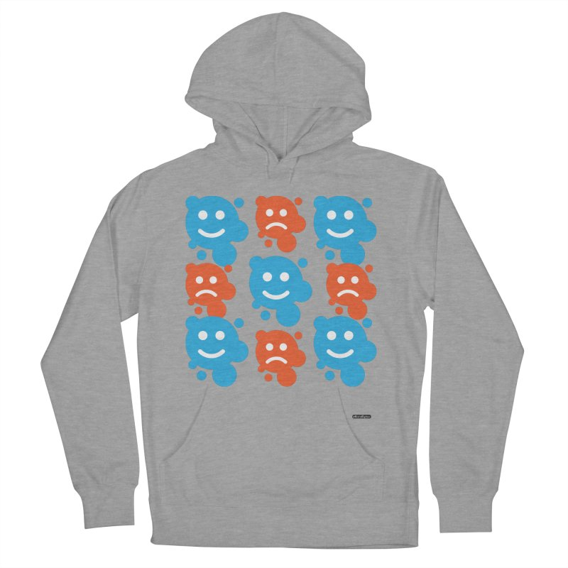 Happy // UnHappy Women's Pullover Hoody by DRAWMARK