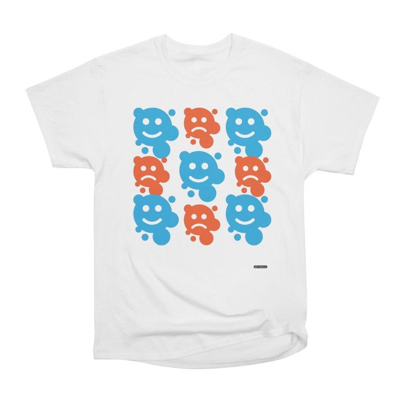 Happy // UnHappy Women's Classic Unisex T-Shirt by DRAWMARK
