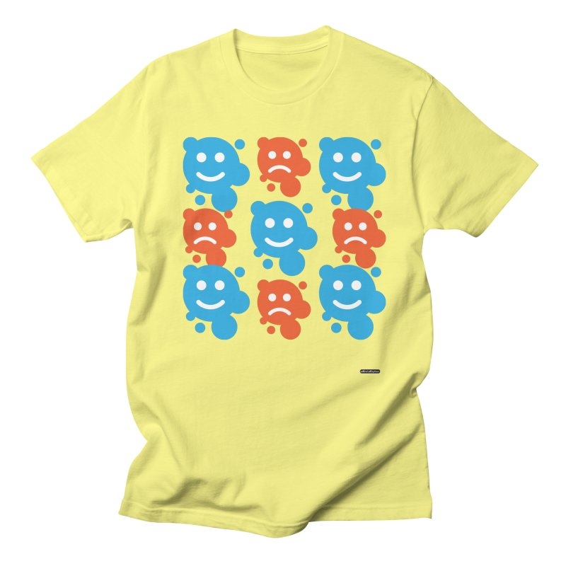 Happy // UnHappy Women's Unisex T-Shirt by DRAWMARK