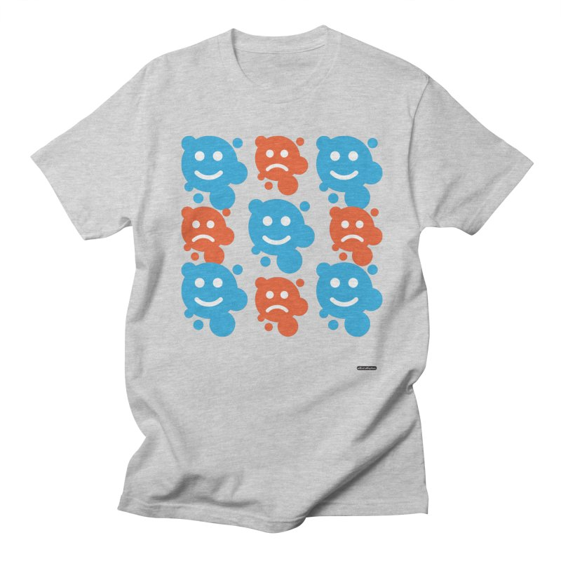 Happy // UnHappy Men's T-Shirt by DRAWMARK