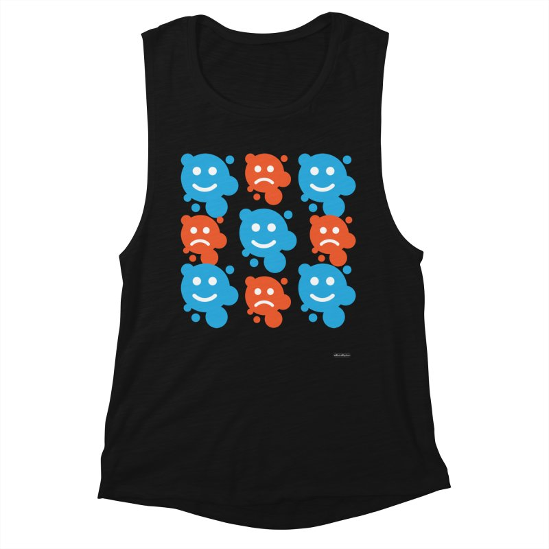 Happy // UnHappy Women's Tank by DRAWMARK