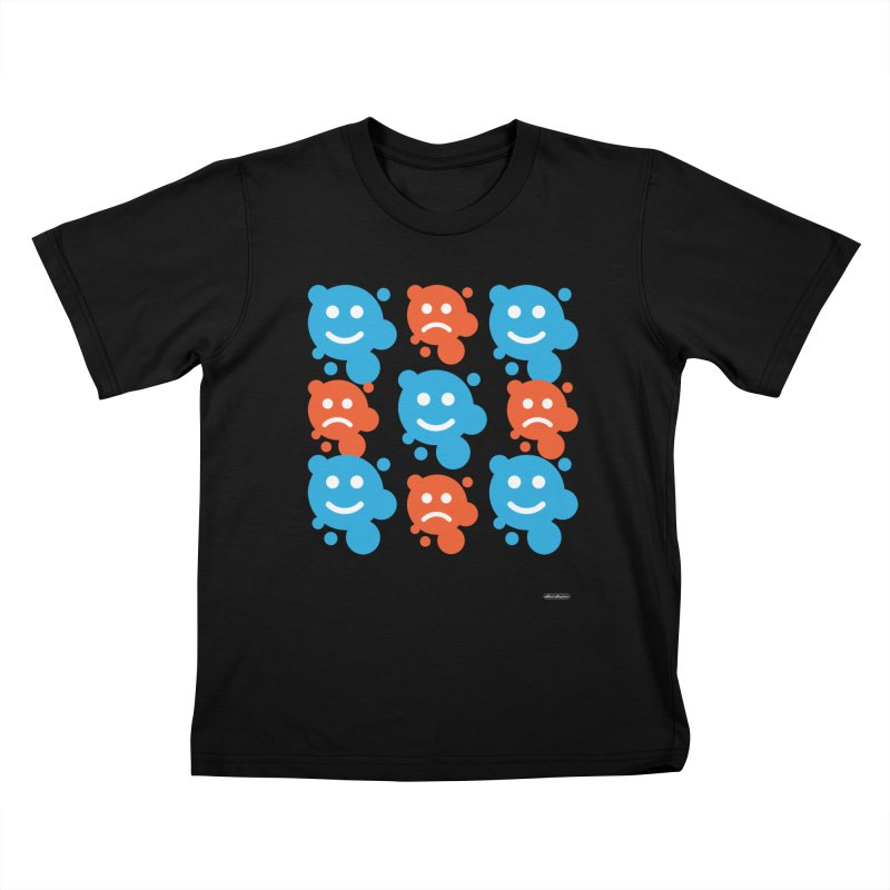 Happy // UnHappy Kids T-Shirt by DRAWMARK