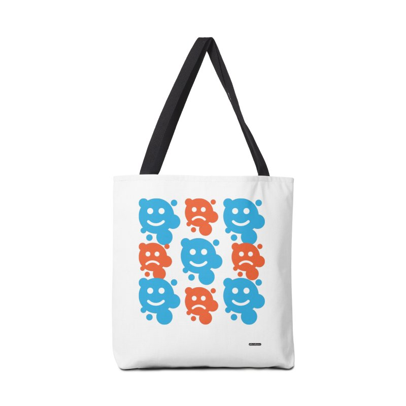 Happy // UnHappy Accessories Bag by DRAWMARK