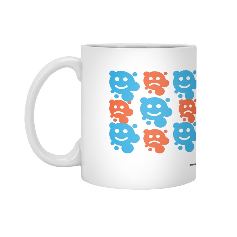 Happy // UnHappy Accessories Mug by DRAWMARK
