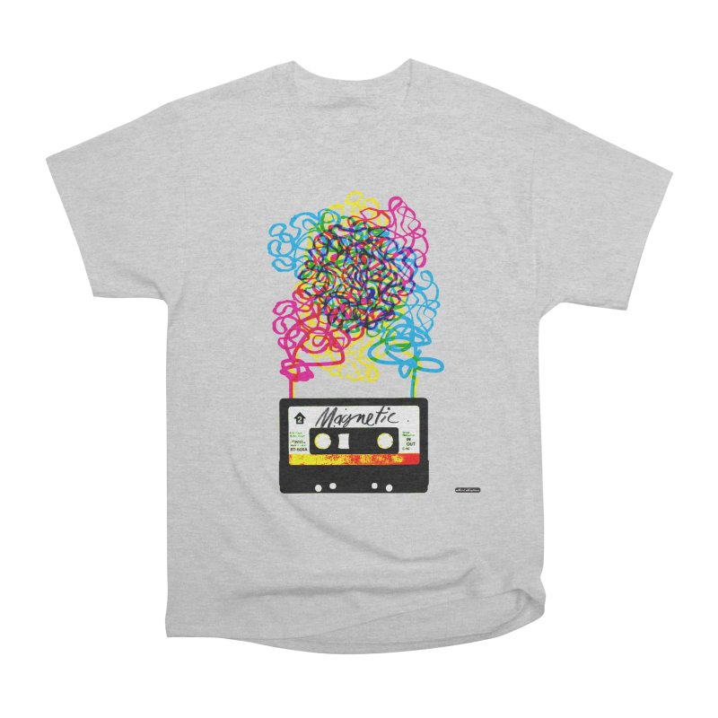 Magnetic Men's T-Shirt by DRAWMARK