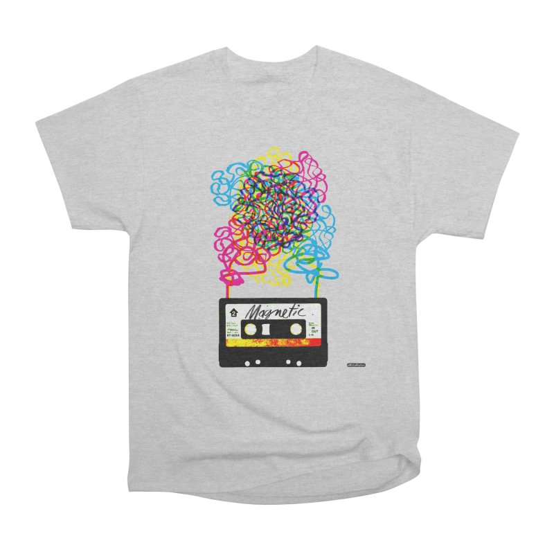Magnetic Women's Classic Unisex T-Shirt by DRAWMARK