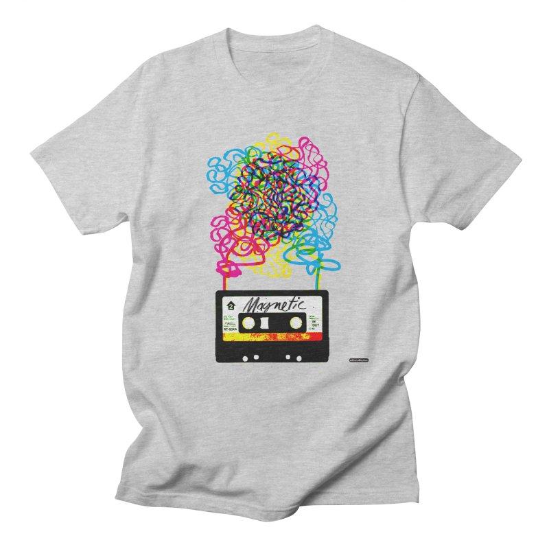 Magnetic Men's Regular T-Shirt by DRAWMARK