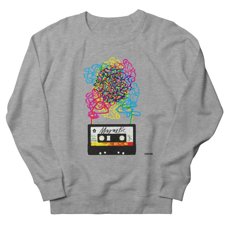 Magnetic Women's Sweatshirt by DRAWMARK