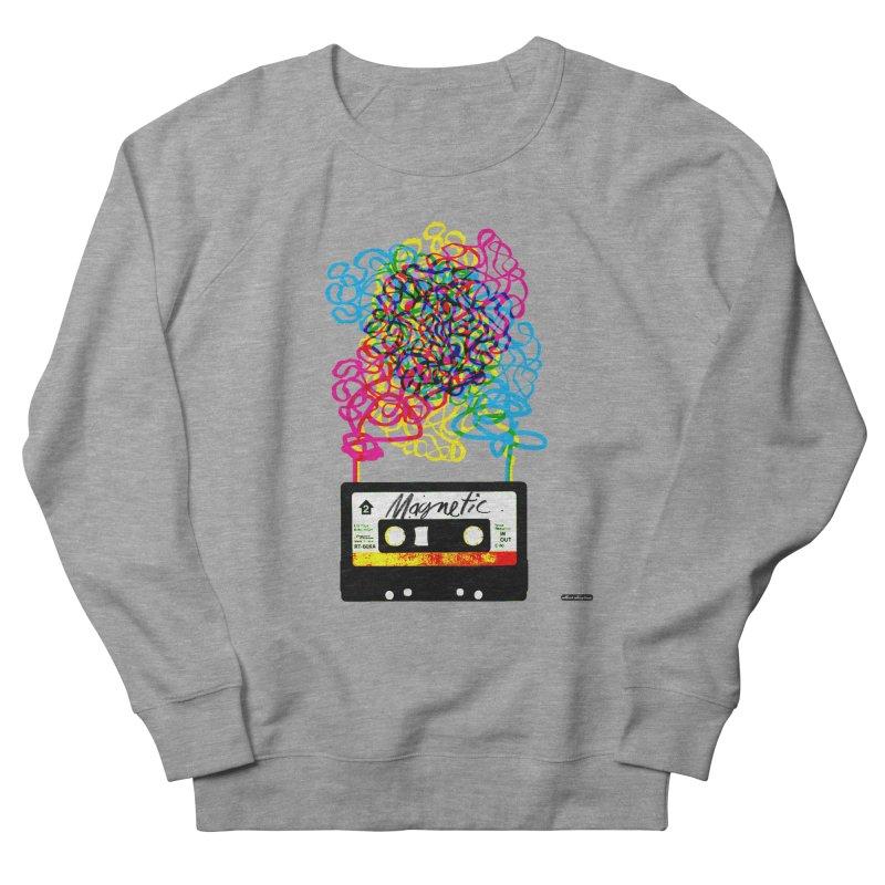 Magnetic Men's Sweatshirt by DRAWMARK