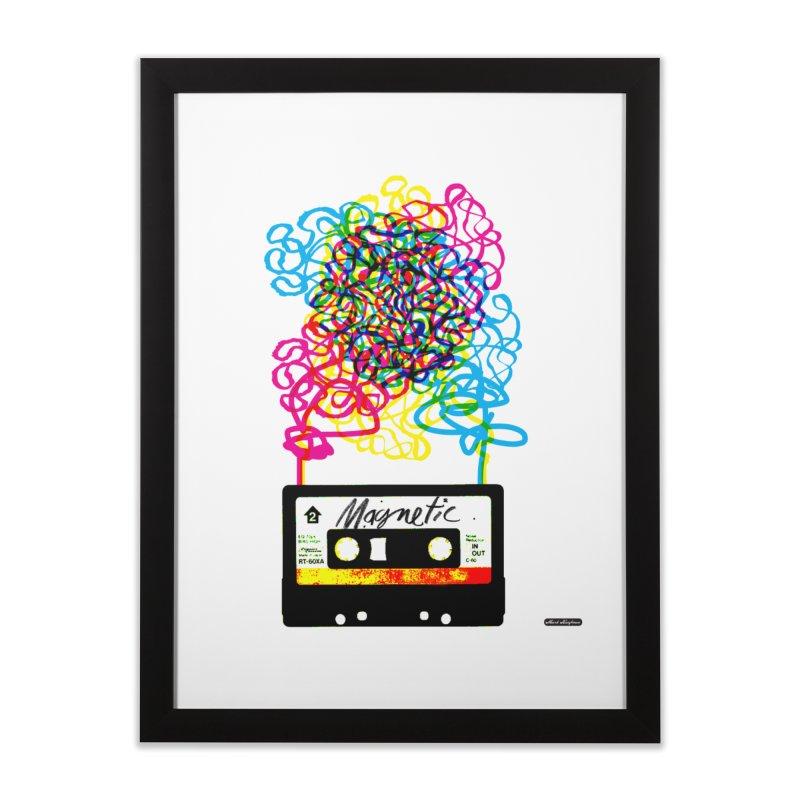 Magnetic Home Framed Fine Art Print by DRAWMARK