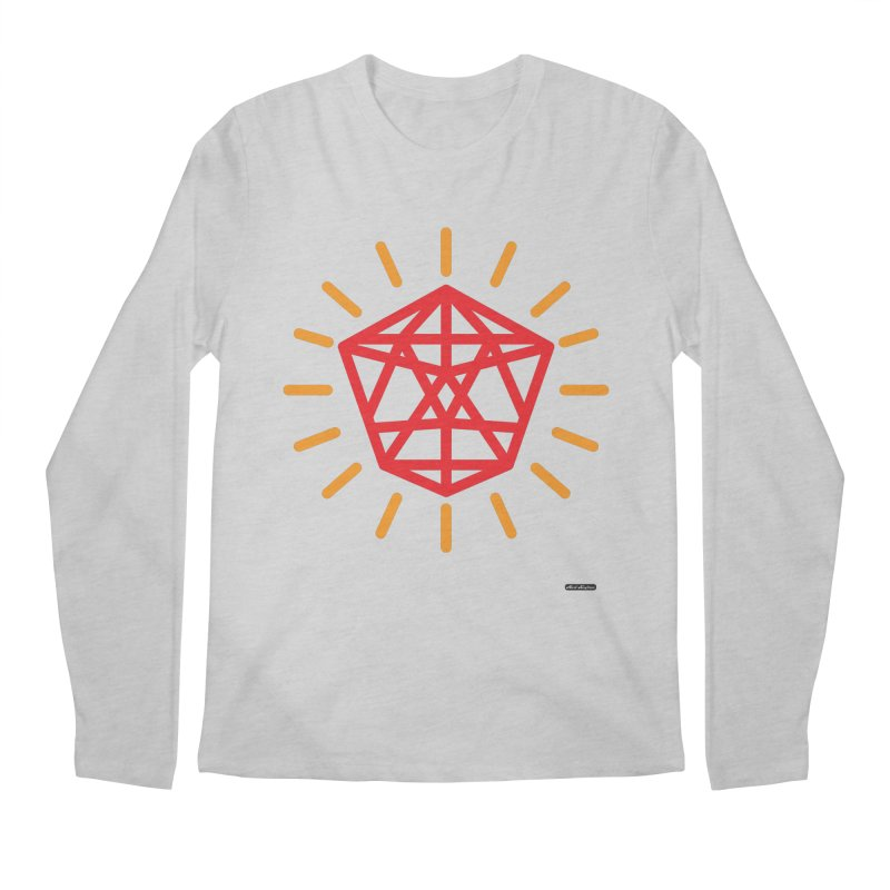 Red Diamond Men's Longsleeve T-Shirt by DRAWMARK