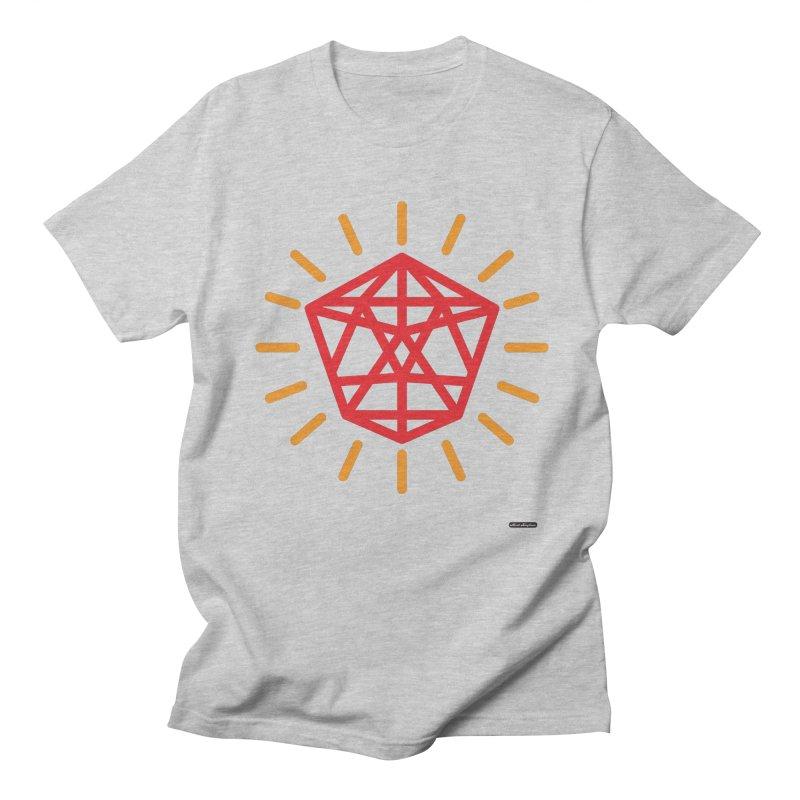 Red Diamond Men's T-Shirt by DRAWMARK
