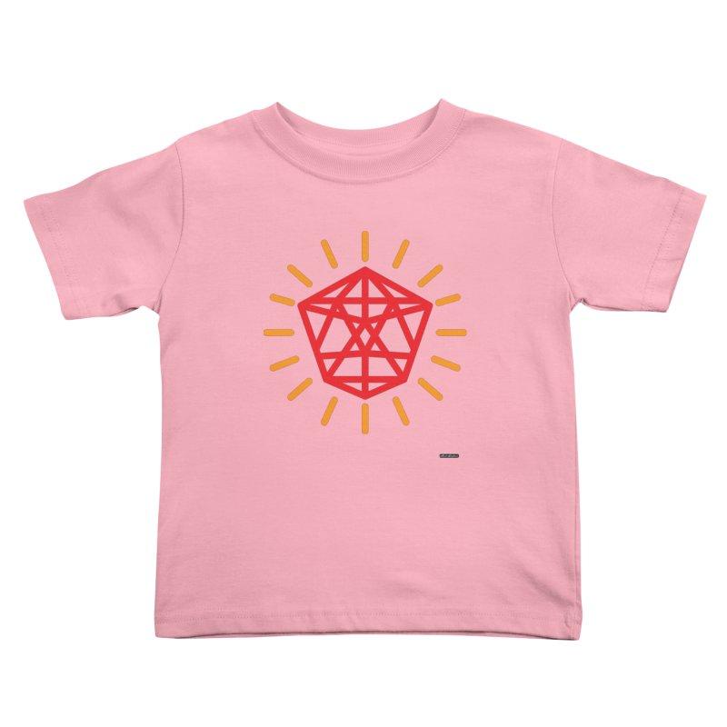 Red Diamond Kids Toddler T-Shirt by DRAWMARK