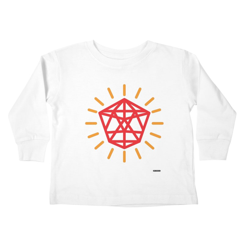 Red Diamond Kids Toddler Longsleeve T-Shirt by DRAWMARK