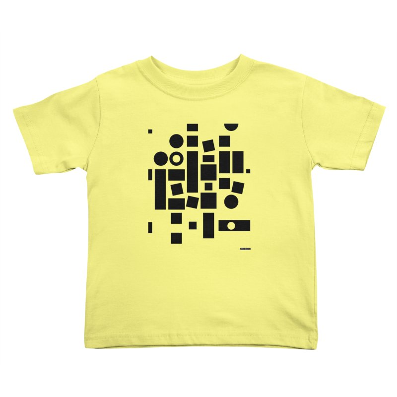 After Albers Positive Kids Toddler T-Shirt by DRAWMARK