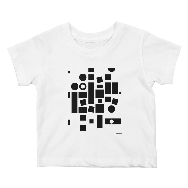 After Albers Positive Kids Baby T-Shirt by DRAWMARK