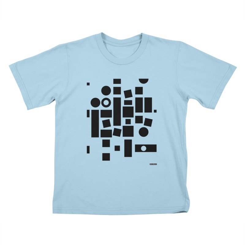 After Albers Positive Kids T-Shirt by DRAWMARK