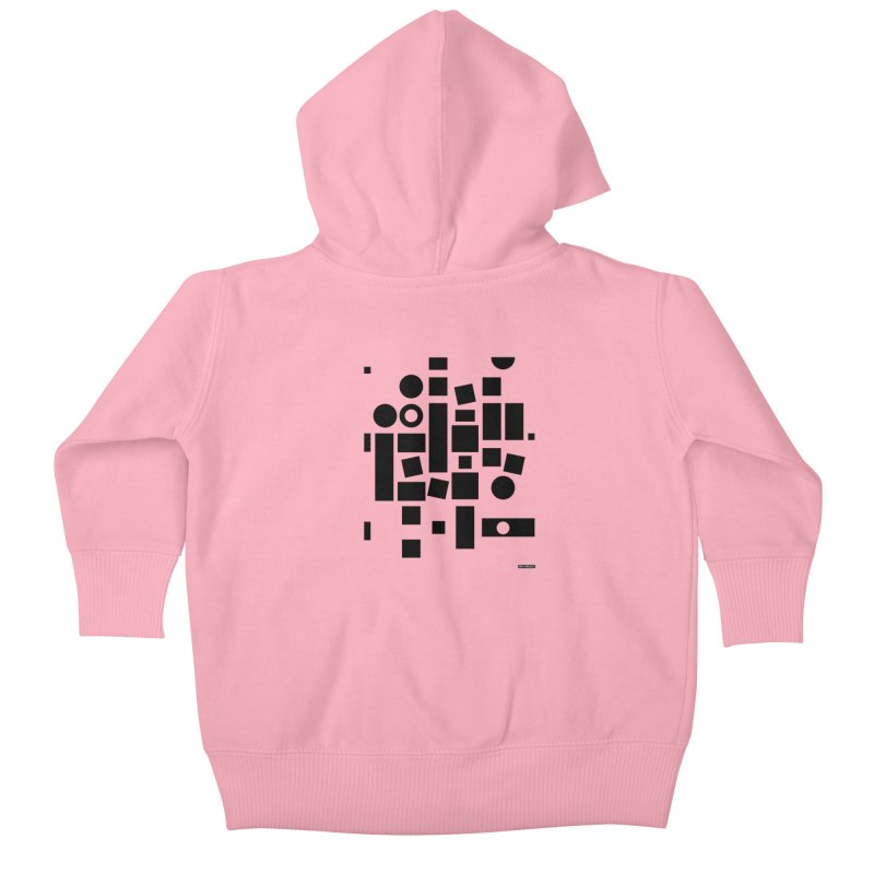 After Albers Positive Kids Baby Zip-Up Hoody by DRAWMARK