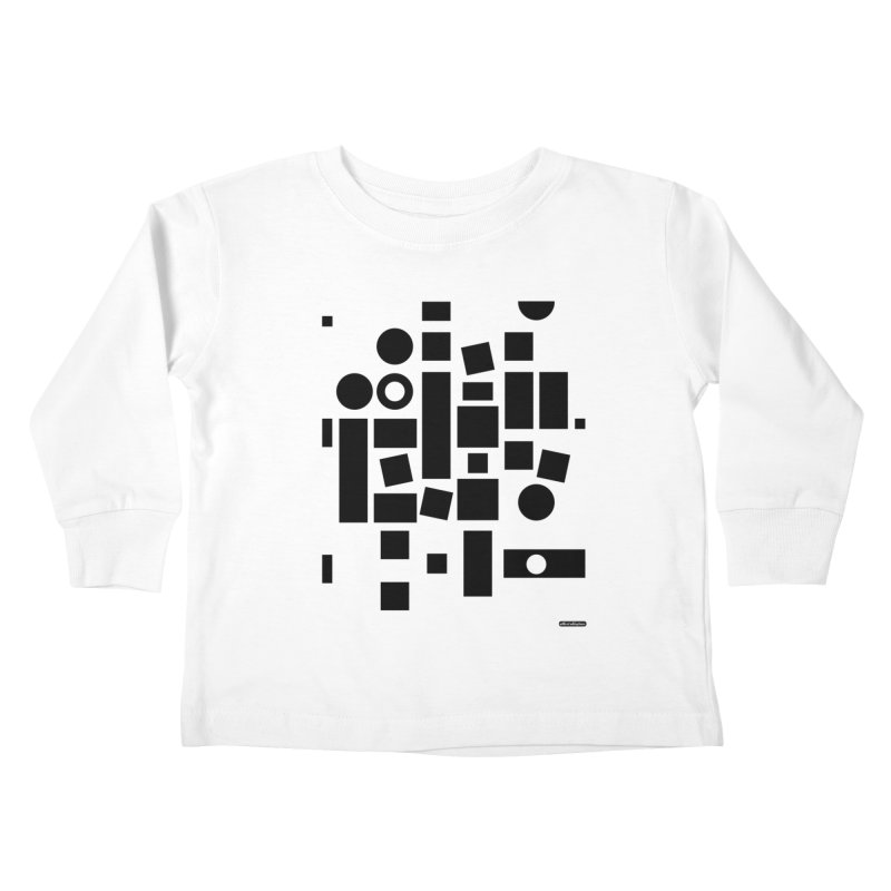 After Albers Positive Kids Toddler Longsleeve T-Shirt by DRAWMARK