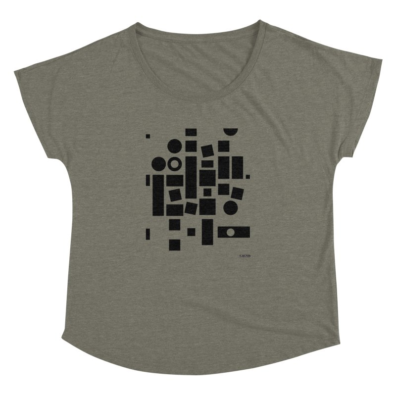 After Albers Positive Women's Dolman by DRAWMARK