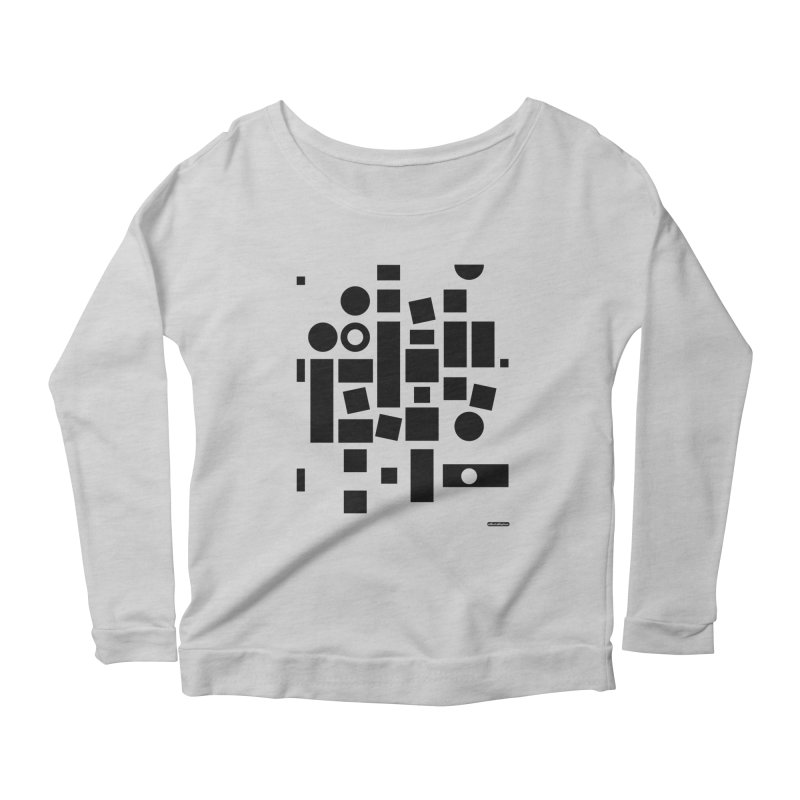 After Albers Positive Women's Longsleeve Scoopneck  by DRAWMARK