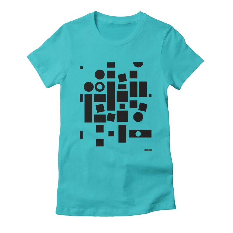 After Albers Positive Women's Fitted T-Shirt by DRAWMARK