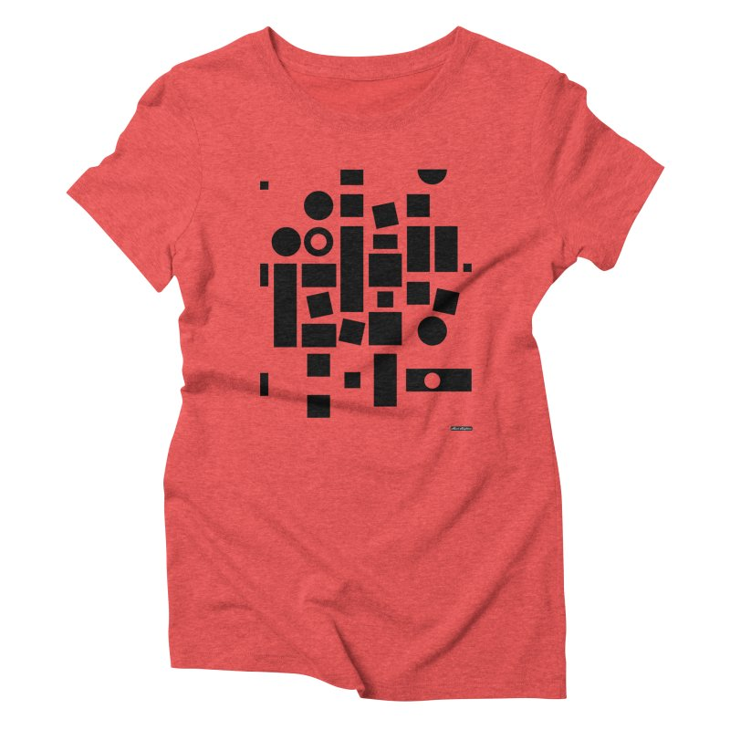 After Albers Positive Women's Triblend T-Shirt by DRAWMARK