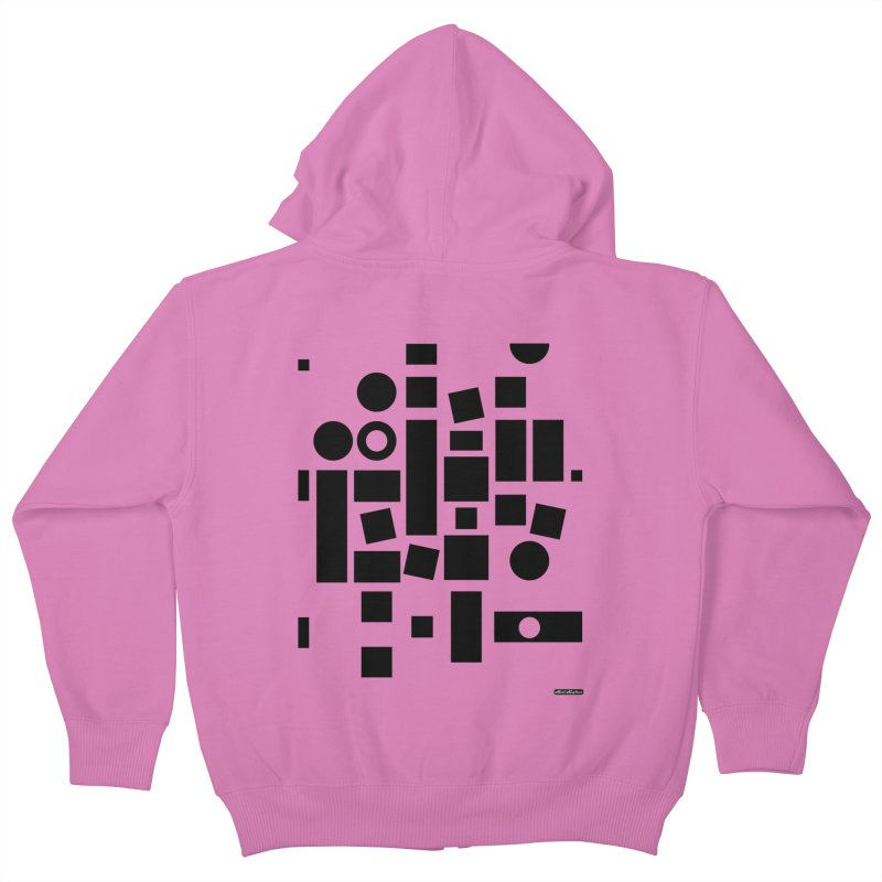 After Albers Positive Kids Zip-Up Hoody by DRAWMARK