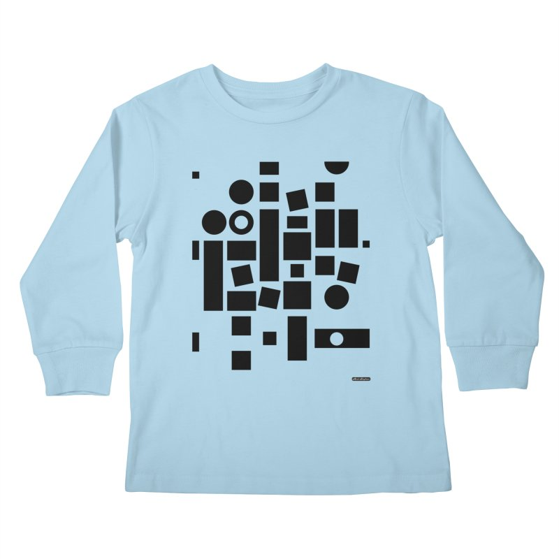 After Albers Positive Kids Longsleeve T-Shirt by DRAWMARK